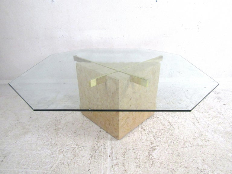 Brass Set of 3 Midcentury Artedi Style Tables