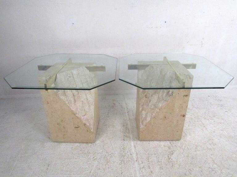 Set of 3 Midcentury Artedi Style Tables 3