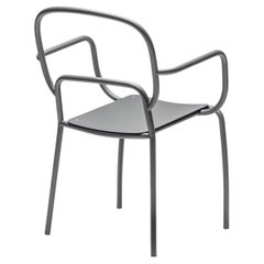 Set of 3 Moyo Gray Chair by Simone Fanciullacci & Antonio De Marco