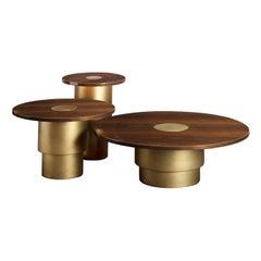 Set of 3 Rondò Nesting Tables by Daytona