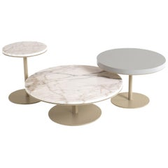Set of 3 Round Serving Tables