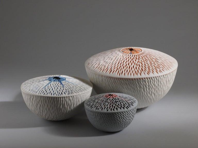 Set of 3 Starfish Bowls Porcelain Italian Contemporary 21st Century Unique For Sale 1