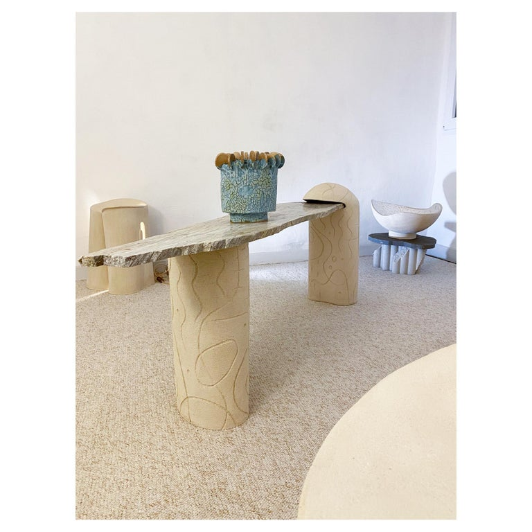 Set of 3 Tempo Sculptures by Olivia Cognet For Sale 4
