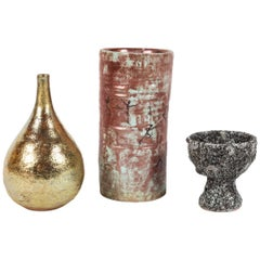 Set of 3 Vessels by Beatrice Wood
