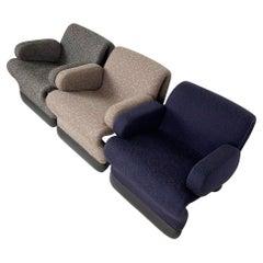 Set of 3 Vintage Suspens Chairs by Paul Boulva for Artoplex