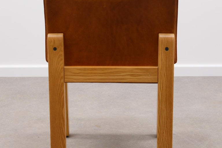 20th Century Set of 4 Afra & Tobia Scarpa Dining Chairs, Italy, 1970s For Sale