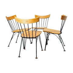Set of 4 'Allegro' Dining Chairs by Lee Woodard