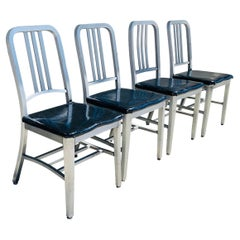 Set of 4 Aluminum Chairs by Goodform