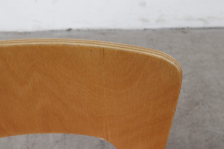 Plywood Set of 4 Alvar Aalto