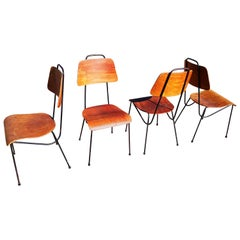 Set of 4 Antoni Moragas i Gallisa Chairs, Spain, 1960s