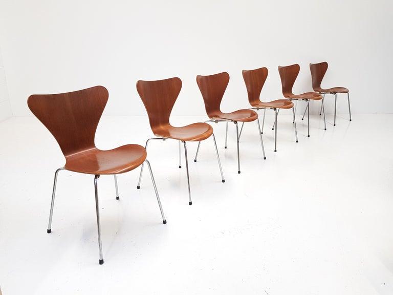 Danish Set of 4 Arne Jacobsen