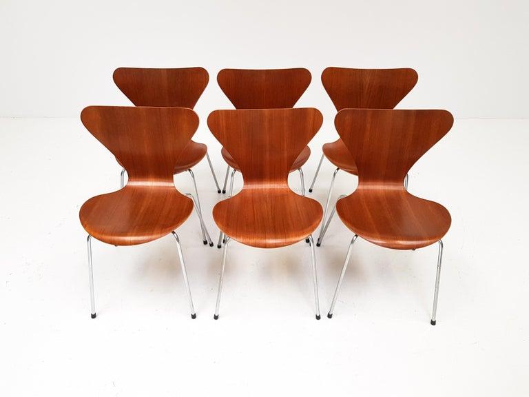 20th Century Set of 4 Arne Jacobsen