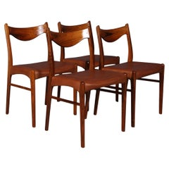 Set of 4 Arne Wahl Dining Chairs