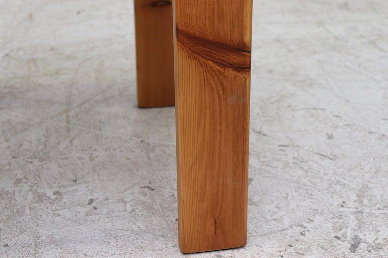 Set of 4 Ate Van Apeldoorn Style Pine Dining Chairs For Sale 5