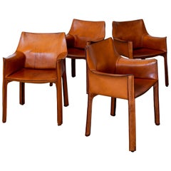 """Set of 4 Bellini """"Cab"""" Chairs"""