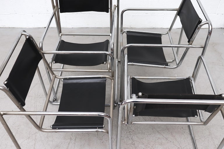 Set of 4 Bruno Pollak Bauhaus RP-7 Chairs for PEL Oldbury, 1932 For Sale 3