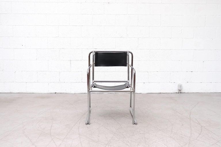 Mid-Century Modern Set of 4 Bruno Pollak Bauhaus RP-7 Chairs for PEL Oldbury, 1932 For Sale