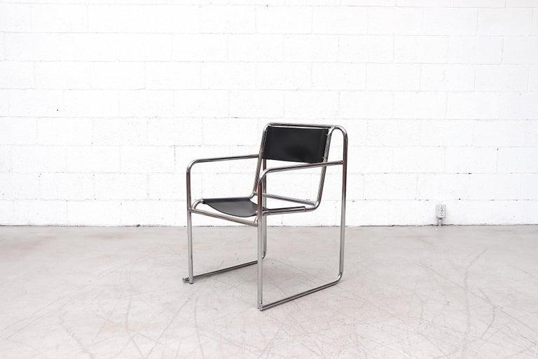 English Set of 4 Bruno Pollak Bauhaus RP-7 Chairs for PEL Oldbury, 1932 For Sale
