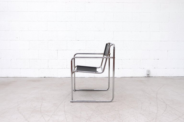 Set of 4 Bruno Pollak Bauhaus RP-7 Chairs for PEL Oldbury, 1932 In Good Condition For Sale In Los Angeles, CA
