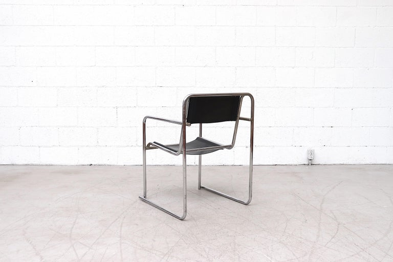 Mid-20th Century Set of 4 Bruno Pollak Bauhaus RP-7 Chairs for PEL Oldbury, 1932 For Sale
