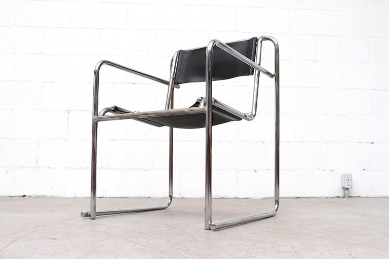 Set of 4 Bruno Pollak Bauhaus RP-7 Chairs for PEL Oldbury, 1932 For Sale 1