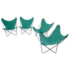 Set of 4 Butterfly Sling Chairs