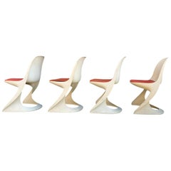 Set of 4 Casalino Chairs by Alexander Begge for Casala