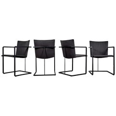 Set of 4 Castelijn Dining Chairs by Hannie de Jong