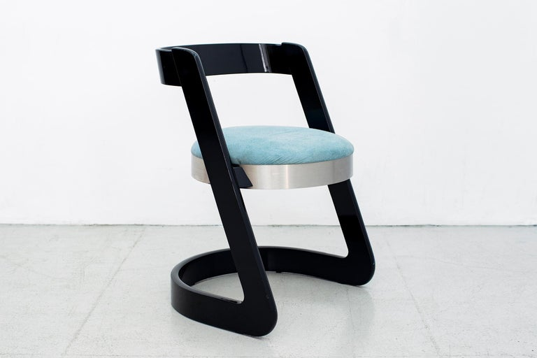 Willy Rizzo Chairs - Set of 4  In Good Condition For Sale In Los Angeles, CA