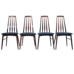 Set of 4 Chairs, Danish Design, Niels Koefoed, 1960s