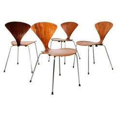 Set of 4 Cherner Chairs by Bernardo / Plycraft