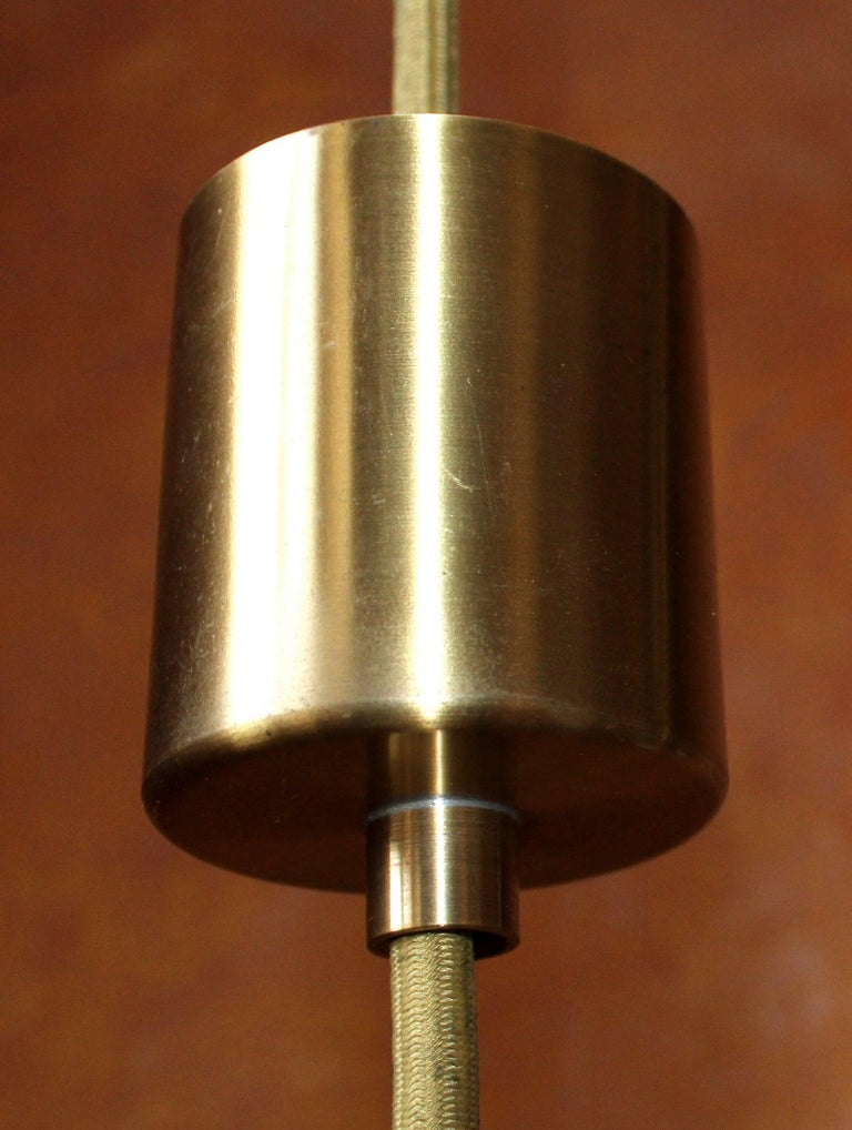 Set of 4 Church Chandelier Heavy Brass, Germany, 1960s For Sale 1