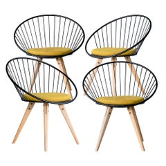 Set of 4 Circlo Chairs for Dining and Desk