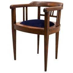 Set of 4 Club Chairs, Art Nouveau, Austria