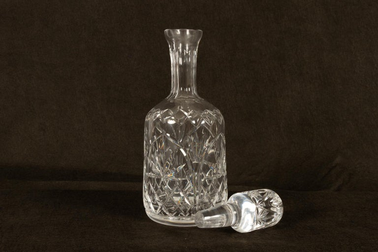 Set of 4 Crystal Decanters, Mid-20th Century For Sale 1