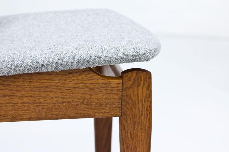 Set of 4 Danish Chairs by Jørgen Baekmark for FDB, 1950s 4