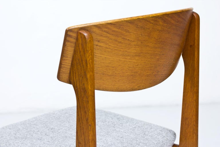 Set of 4 Danish Chairs by Jørgen Baekmark for FDB, 1950s 1