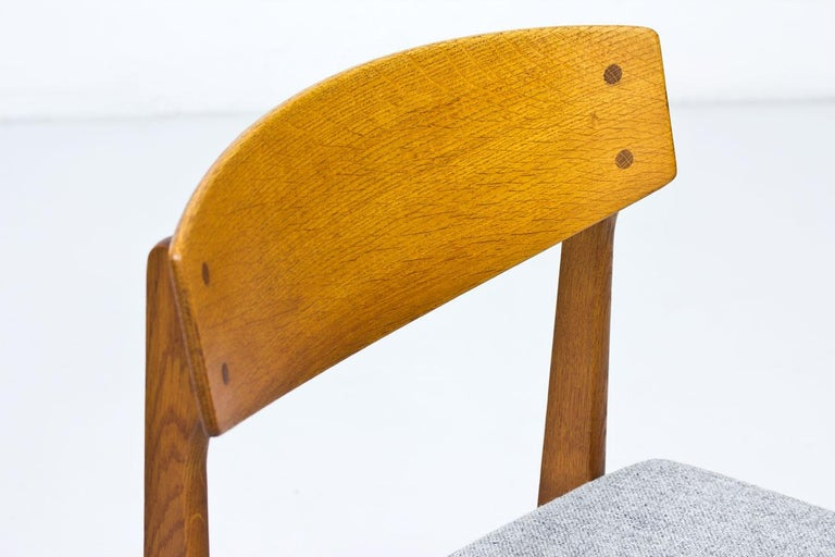 Set of 4 Danish Chairs by Jørgen Baekmark for FDB, 1950s 2