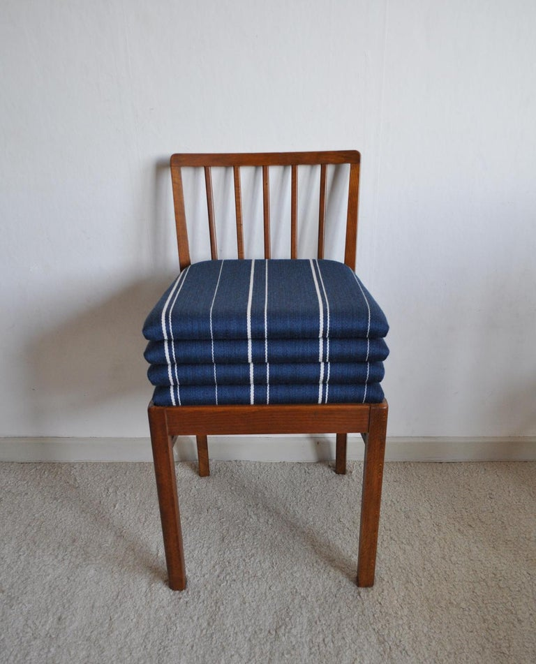 20th Century Set of 4 Danish Dining Chairs in the Style of Jacob Kjær, 1940s For Sale