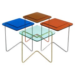 Set of 4 Diamond Side Table by Rita Kettaneh