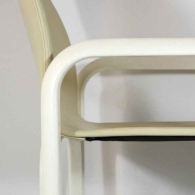 Set of 4 Dining Chairs Orsay Designed by Gae Aulenti for Knoll International For Sale 7