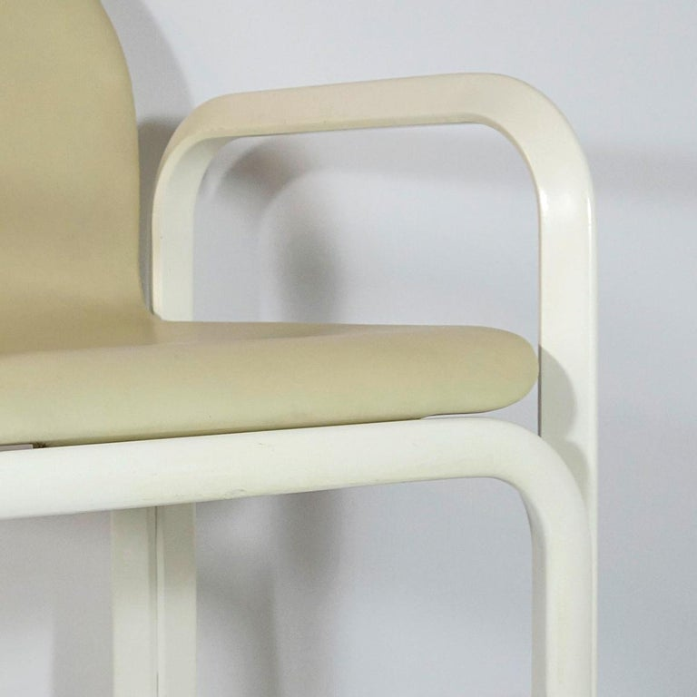 Set of 4 Dining Chairs Orsay Designed by Gae Aulenti for Knoll International For Sale 9