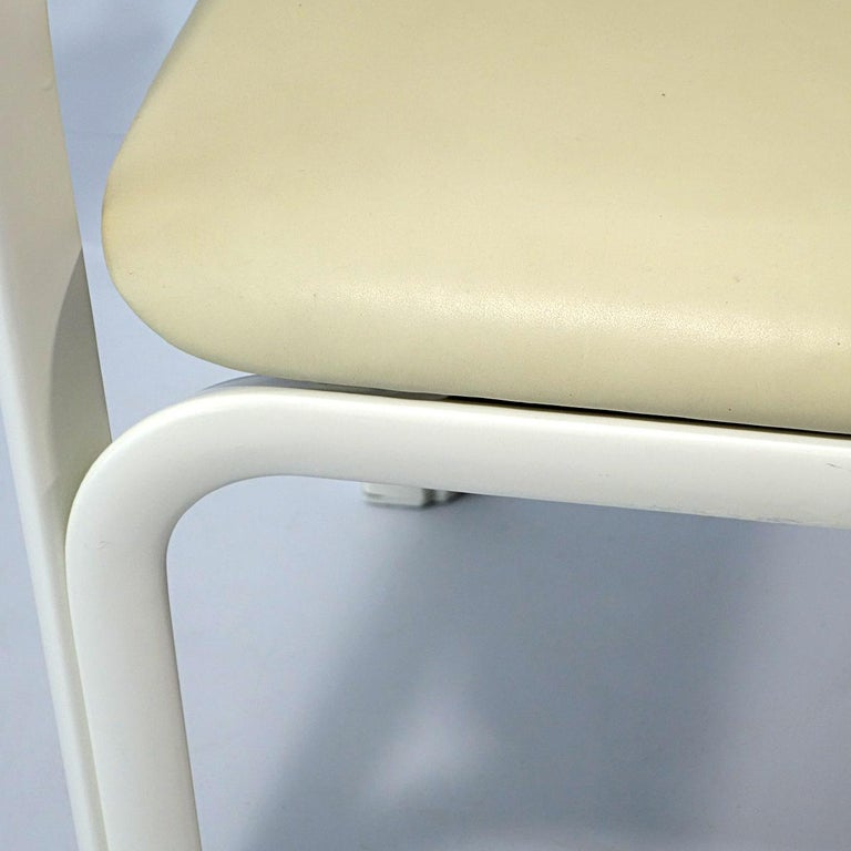 Mid-20th Century Set of 4 Dining Chairs Orsay Designed by Gae Aulenti for Knoll International For Sale