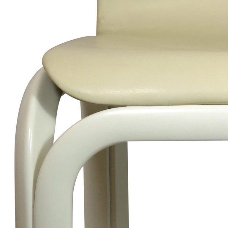Set of 4 Dining Chairs Orsay Designed by Gae Aulenti for Knoll International For Sale 1