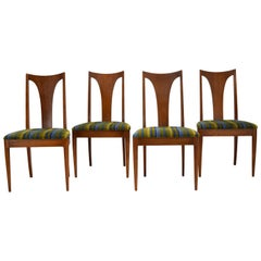 Set of 4 Dining Chairs by Broyhill for Saga