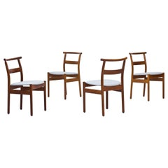 Set of 4 Dining Chairs by Tove & Edvard Kindt-Larsen