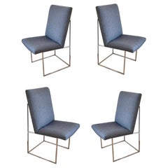 Set of 4 Dining Chairs Designed by Milo Baughman
