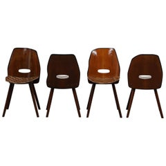 Set of 4 Dining Table Chairs by Markus Friedrich Staab