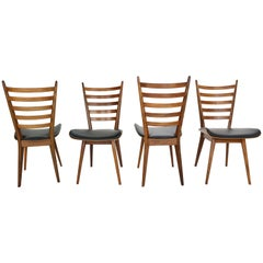Set of 4 Dinning Room Chairs by Cees Braakman for Pastoe, 1960s Netherlands