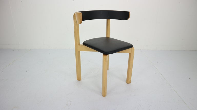 Set of 4 Dining Room Chairs by Jørgen Gammelgaard for Schiang Møbler, Denmark For Sale 2